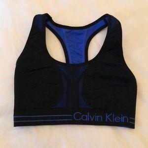 Calvin Klein reversible sports bra